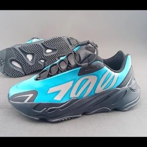 "Yeezy Boost 700 MNVN ""Orange"" athletic shoes"